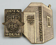 Harley Owners Group Hog 100th Anniversary Open House Pin Factory Shed 100 Total