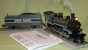 Williams Union Pacific Up 4-6-0 Baldwin Steam W/whistle And Bell O/027 Wks/ Lionel