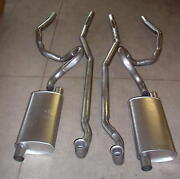 1973 Pontiac Grand-am Dual Exhaust System, Aluminized, 2 Door Models Only