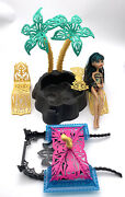 13 Wishes Desert Fright Oasis Playset With Cleo De Nile Doll Monster High
