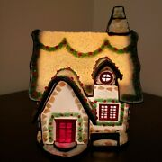 Forma Vitrum Vitreville Stained Glass Hollyday Home 41105 Music Box