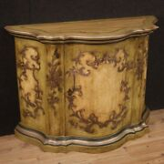 Venetian Sideboard Lacquered Painted Wood Furniture Cupboard Antique Style 900