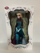"""Limited Edition 17"""" """"frozen"""" Elsa Limited Edition Coronation Doll 2412/5000"""