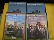 6 Downton Abbey Season Dvd Lot Series 1, 2, 3, 4, 5 And 6   Complete Series