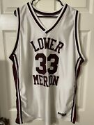 Used Kobe Bryant Vintage Don Alleson High School Jersey 33 Xl Very Rare 👀
