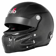 Stilo St5 Gt Carbon Fia And Snell Approved Race Helmet With Fhr Posts