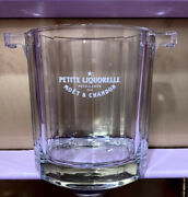 Vtg Moet And Chandon Petite Liquorelle Etched Champagne Chiller/ice Bucket Wine