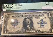 Fr237 1923 1 Bill Blue Seal With Free Ship + Cert Choice New Unc 63 White/spee