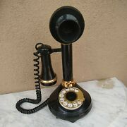 1973 American Telecommunications The Candlestick Telephone For Western Electric