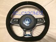 Vw T6 T30 Caravelle R-line Executive Mfsw Flat Bottom Steering Wheel And Airbag