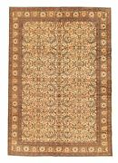 Hand-knotted Turkish Carpet 6and0395 X 9and0395 Keisari Vintage Traditional Wool Rug