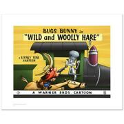 Wild And Wooly Hare Limited Edition Giclee From Warner