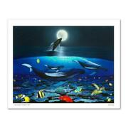 The Living Sea Limited Edition Giclee On Canvas By