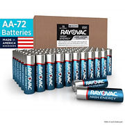 Rayovac Aa Batteries Alkaline Double A Batteries 72 Battery Count