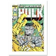 Stan Lee Signed, The Incredible Hulk 343 Numbered
