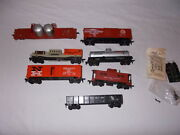 Gilbert American Flyer Rare Ho Freight Cars Clean Lot M-169