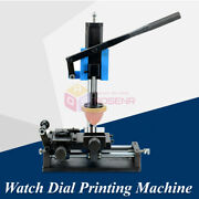 Watch Dial Surface Pad Printer Watch Hand Watchcase Inner Shadow Ring Machine