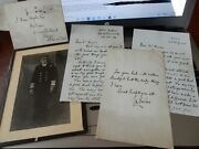 Admiral Charles Morton Forbes, Ww2 Autograph Photo And Trio Autograph Letters