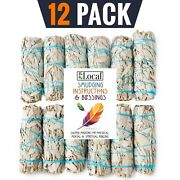 12 White Sage Smudge Bundles 4 Inches Long Sustainably Grown