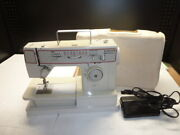 Vintage Singer Merritt 8834 Portable Electric Sewing Machine And Foot Pedal