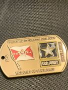 Authentic 4 Star General Vice Chief Of Staff Cody Cos Vcos Army Challenge Coin