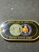 Deputy Chief Of Staff G-2 Army Intelligence Challenge Coin Rare