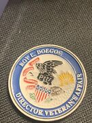 Roy L Dogos Veterans Affairs Challenge Coin