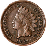 1864br Indian Cent Great Deals From The Executive Coin Company