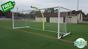 Moveable Boxed-in Stadium Soccer Goal | Professional Soccer Goal