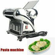 Us Stainless Steel Pasta Maker Noodle Making Machine Dough Cutter Roller Hot
