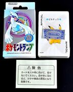 【new】pokemon Playing Cards Silver Nintendo Poker Card 1999 Lugia From Jp