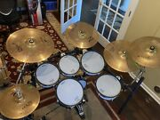 Roland Td-10 V-drums - With Upgraded Kick Drum And Rack