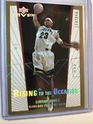 2003-04 Mvp Rising To The Occasion Lebron James Gold Rookie Ro2 154/250 🏀🔥