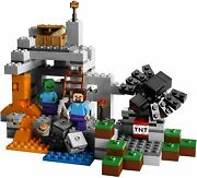 4 Lego Minecraft 21106 Nether 21113 Cave 21102 Forest 21119 Dungeon Complete