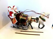 Clothtique Possible Dreams Santa Sleighride Together With You In Original Box