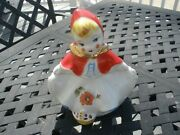 Hull Pottery Little Red Riding Hood Biscuit Jar Unmarked Excellent Condition