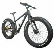 Unisex Mountain Bike Full Carbon Complete Hard Frame Double V Brake Snow Bicycle