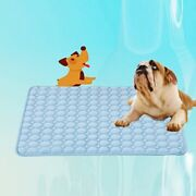 Pet Cooling Mat Non-toxic Cool Pad Pet Bed For Summer Dog Cat Cushion S/m/l/xl