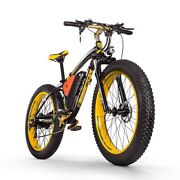Powerful Electric Snow Bikes Fat Tires Battery Brushless Motor Bicycles