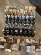 Full Set Of 32 Vintage Avon Chess Piece Aftershave Bottles With 30 Boxes