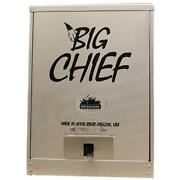 24.5and039and039 H Racks Electric Big Chief Front Load Smoker Smokes Up To 50 Lbs. Of Meat