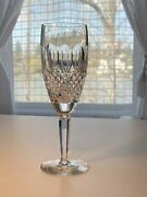 Waterford Crystal Champagne Flute In Pattern Colleen