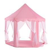 Ejoyous Kids Play Tent Children Kids Girls Princess Castle Play Tent For Outd.