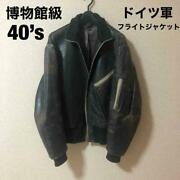 40and039s German Flight Jacket Ww2 Vintage Rare Collectible Free Shipping From Japan