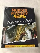 Murder Mystery Party Game Pasta Passion And Pistols Nib 2016 Group Board Game