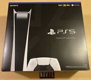 New Sony Playstation 5 Ps5 Console Digital Version ✅ In Hand 📦 Ships Free Today