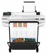 Hp Designjet T525 24 Wide Large Format Color Printer 24 Inch Roll 11x17 New
