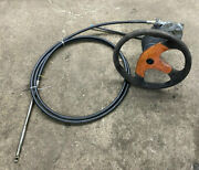 1997 Chaparral Signature 24 Steering Rack With Cable And Steering Wheel