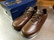 Sas Time Out Leather Classic Casual Shoes, Men's Size 11m, Antique Walnut Brown