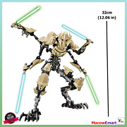 Star Wars General Grievous Buildable Action Figures Toy Gift 12in/32cm No Box
